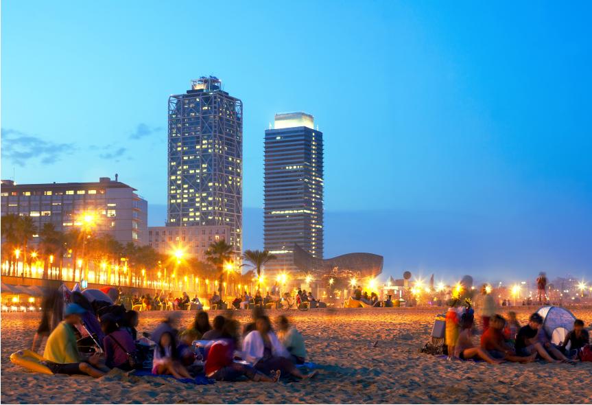 BCN beach